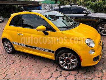 Fiat 500 Sporting usado (2016) color Amarillo precio $215,000
