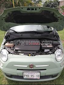Foto venta Auto usado Fiat 500 Trendy (2015) color Verde Oliva precio $155,000