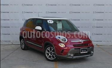 Foto venta Auto usado Fiat 500L 1.4L (2015) color Rojo precio $260,000