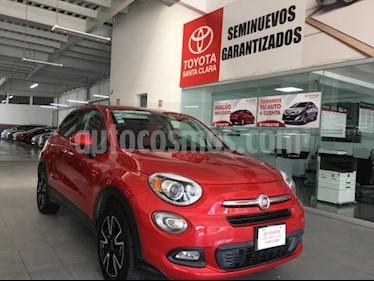 Fiat 500X Easy usado (2016) color Rojo precio $198,000