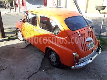 FIAT 600 R usado (1975) color Naranja precio $37.000