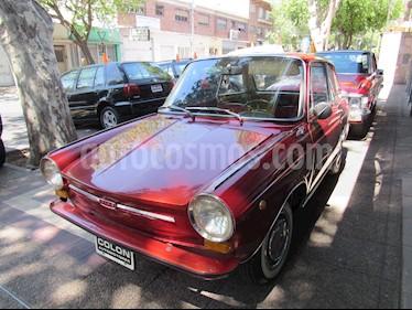 FIAT 800 Coupe usado (1966) color Bordo precio u$s4.000