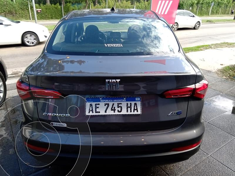 Foto FIAT Cronos 1.8L Precision Aut  usado (2019) color Gris Scandium precio $2.100.000
