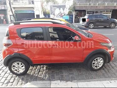 FIAT Mobi Way usado (2016) color Rojo Alpine precio $449.900