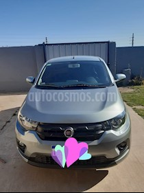 FIAT Mobi Easy Pack Top Live On usado (2018) color Gris Scandium precio $490.000