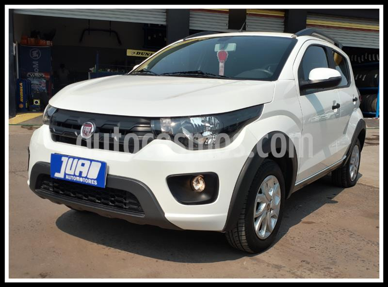 FIAT Mobi Way usado (2018) color Blanco precio $893.000