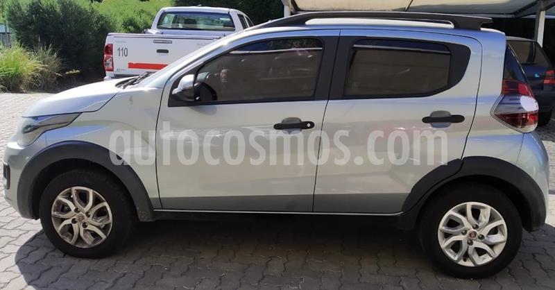 FIAT Mobi Way usado (2019) color Gris Scandium precio $695.000