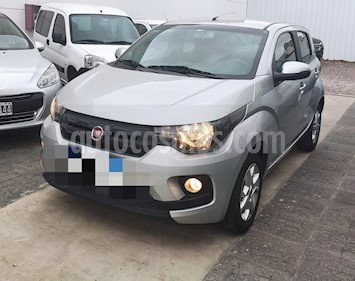 FIAT Mobi Easy Pack Top usado (2017) color Gris Scandium precio $579.900