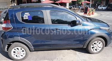 FIAT Mobi Way usado (2017) color Azul precio $470.000