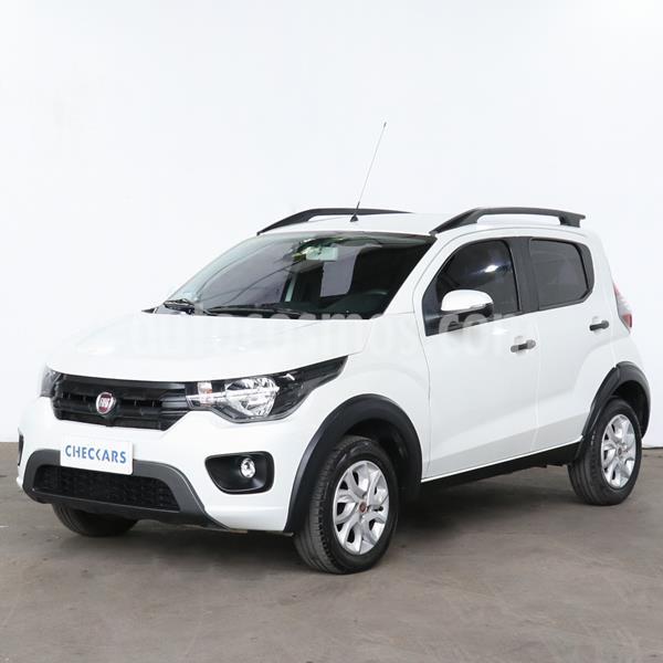 FIAT Mobi Way usado (2017) color Blanco precio $876.000