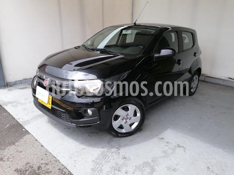 Fiat Mobi Easy  usado (2020) color Negro Vulcano precio $27.990.000