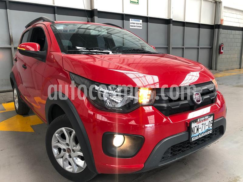 Fiat Mobi Way usado (2018) color Rojo precio $165,000