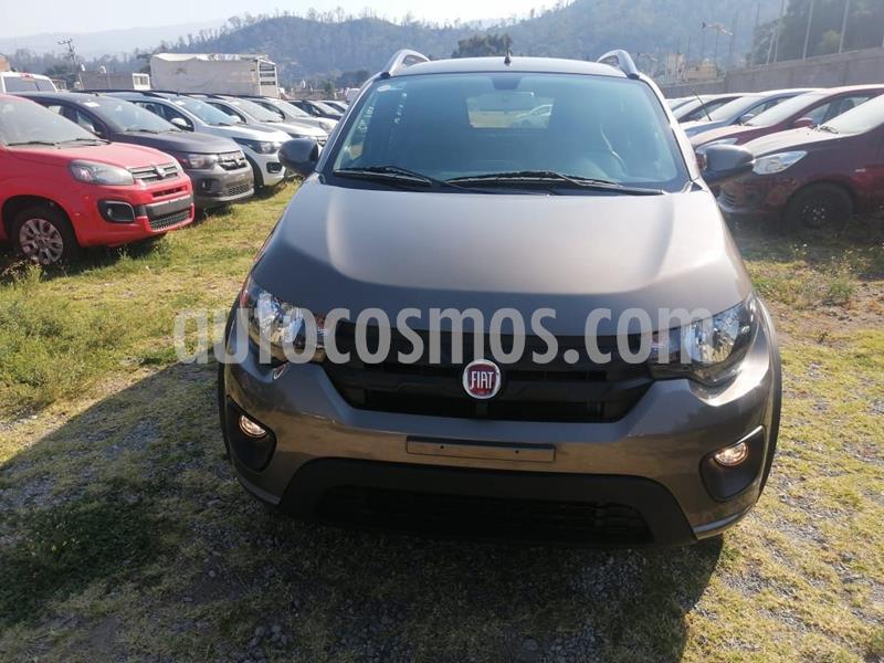 Fiat Mobi Way usado (2019) color Gris precio $179,909