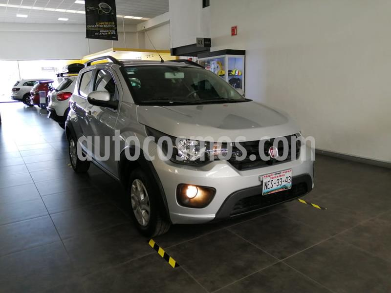 Fiat Mobi Way usado (2017) color Plata Bari precio $134,200