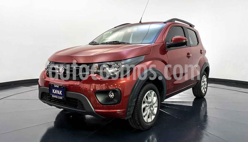Fiat Mobi Way usado (2017) color Rojo precio $154,999