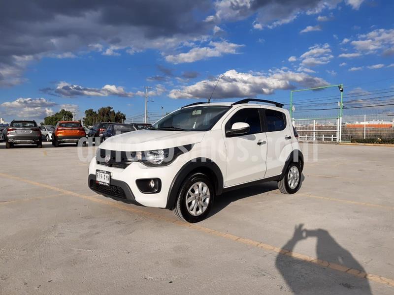 Fiat Mobi Way usado (2018) color Blanco precio $158,000