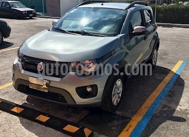 Fiat Mobi Way usado (2017) color Gris Tellurium precio $178,999