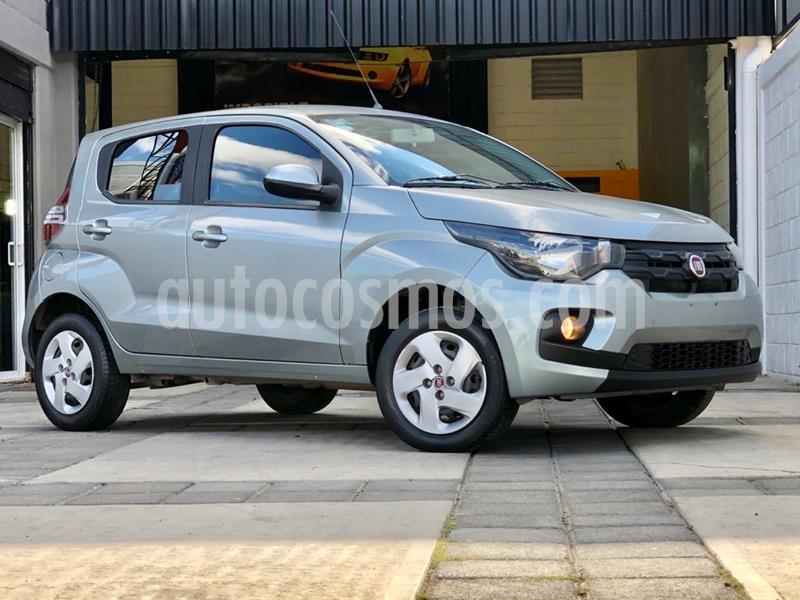 Fiat Mobi Like usado (2018) color Gris Scandium precio $139,000