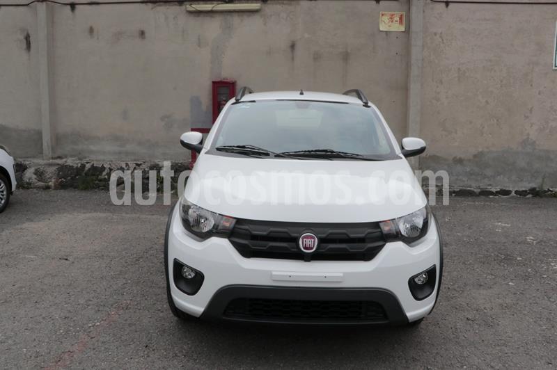 Fiat Mobi Way usado (2018) color Blanco precio $155,000