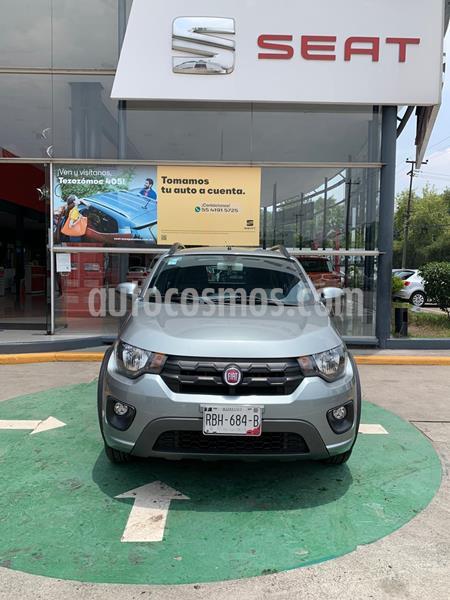 Fiat Mobi Way usado (2018) color Gris precio $170,990
