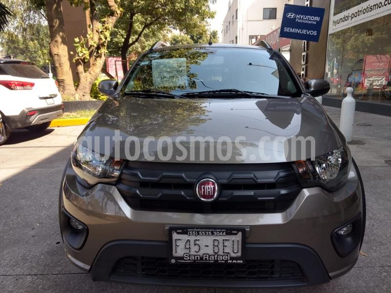 Fiat Mobi Way usado (2019) color Cafe precio $169,000
