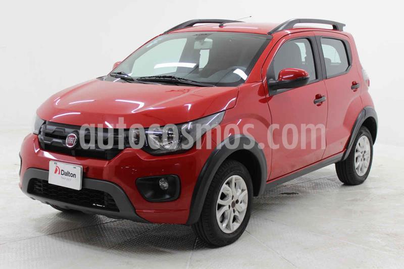 Fiat Mobi Way usado (2018) color Rojo precio $159,000