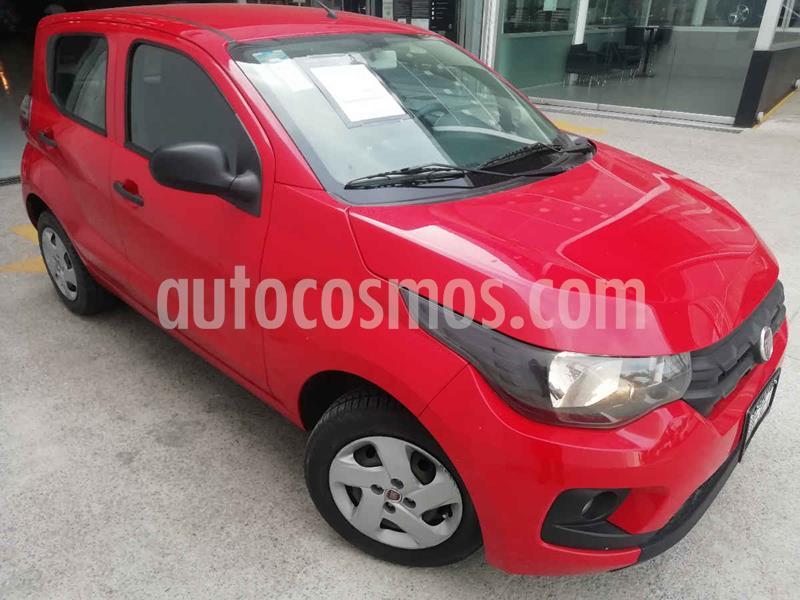 Fiat Mobi Easy usado (2018) color Rojo precio $124,000
