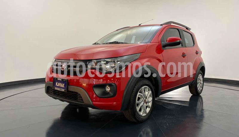Fiat Mobi Way usado (2018) color Rojo precio $167,999