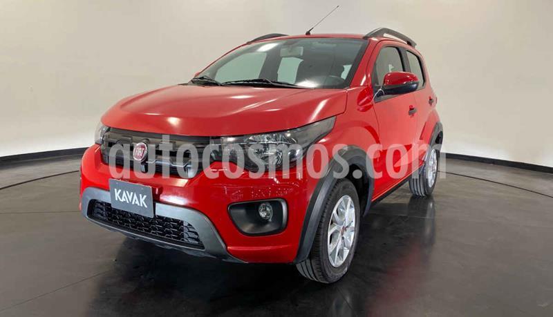 Fiat Mobi Way usado (2018) color Rojo precio $174,999
