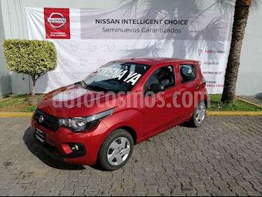 Fiat Mobi Like usado (2017) color Rojo precio $140,000