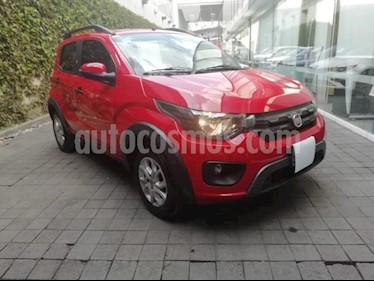 Fiat Mobi 5P WAY TM5 A/AC. VE F. NIEBLA RIELES EN TECHO RA- usado (2018) color Rojo precio $165,000