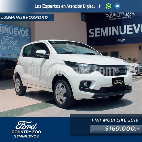 Fiat Mobi Like usado (2019) color Blanco precio $169,000