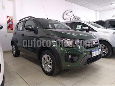 FIAT Mobi Way usado (2018) color Verde Amazona precio $470.000