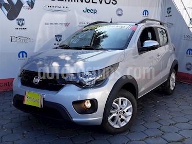 Foto venta Auto Seminuevo Fiat Mobi Way (2017) color Plata Bari precio $169,000