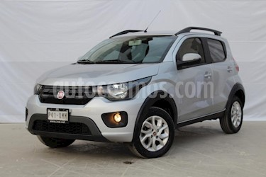 Foto venta Auto usado Fiat Mobi Way (2017) color Plata precio $139,000