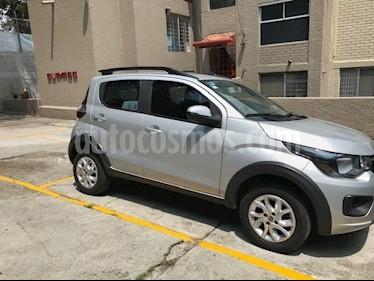 Fiat Mobi Way usado (2017) color Plata Bari precio $142,000