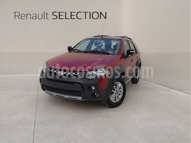 Fiat Palio Adventure 1.6L Dualogic usado (2016) color Rojo Alpine precio $164,000