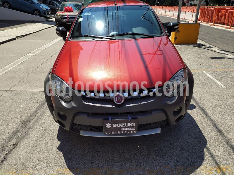 Fiat Palio Adventure 1.6L Dualogic usado (2016) color Rojo precio $163,000