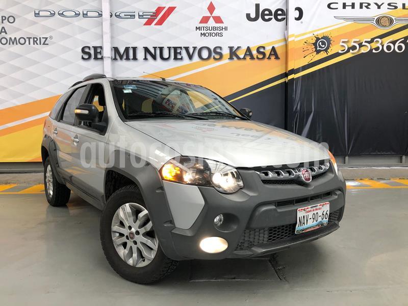 Fiat Palio Adventure 1.6L usado (2017) color Plata Dorado precio $180,000