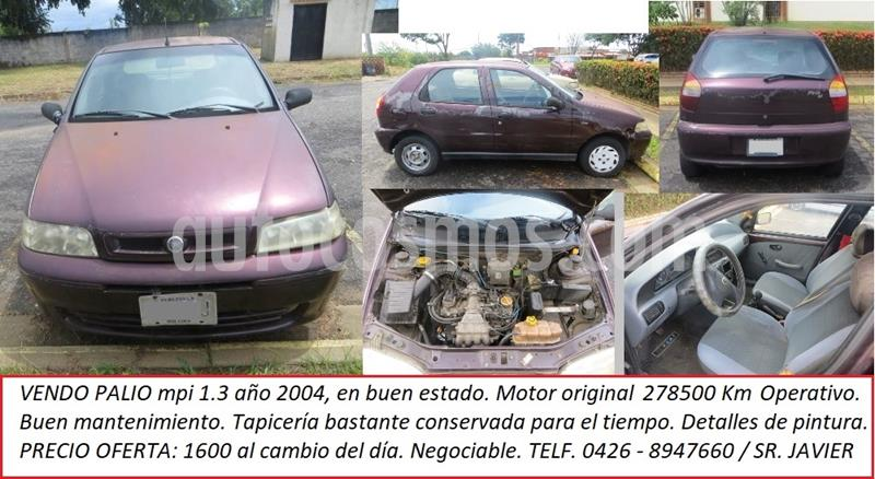 Fiat Palio Fire 1.3 4ptas usado (2004) color Rojo precio u$s1.600