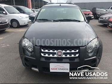 Foto venta Auto Usado Fiat Palio Weekend 1.6 Adventure Locker Seguridad (2018) color Negro Vesubio precio $265.000