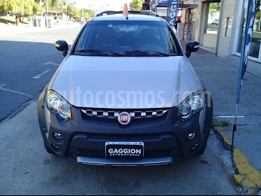 Foto venta Auto usado Fiat Palio Weekend 1.6 Adventure Locker (2015) color Gris Scandium