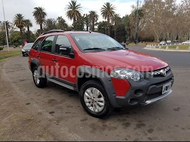FIAT Palio Weekend 1.6 Adventure Locker usado (2015) color Rojo precio $550.000