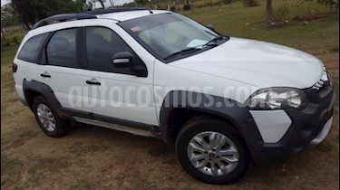 FIAT Palio Weekend 1.6 Adventure Locker usado (2014) color Blanco Banchisa precio $470.000