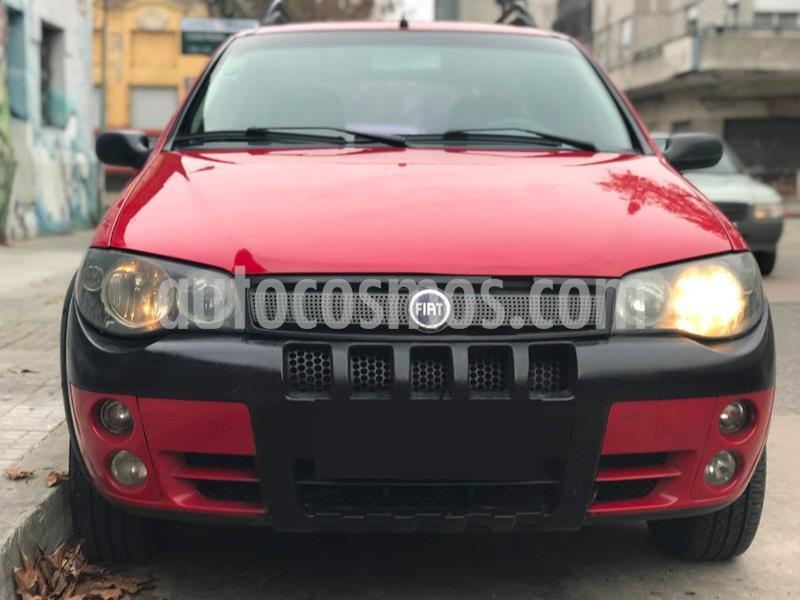 FIAT Palio 5P ELX 1.4 usado (2008) color Rojo precio $310.000
