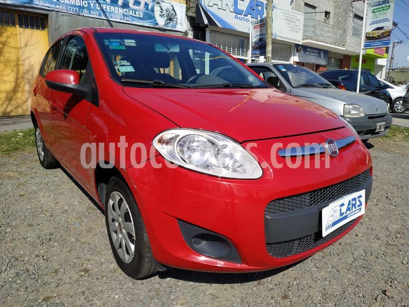 FIAT Palio 5P Attractive usado (2014) color Rojo Alpine precio $495.000