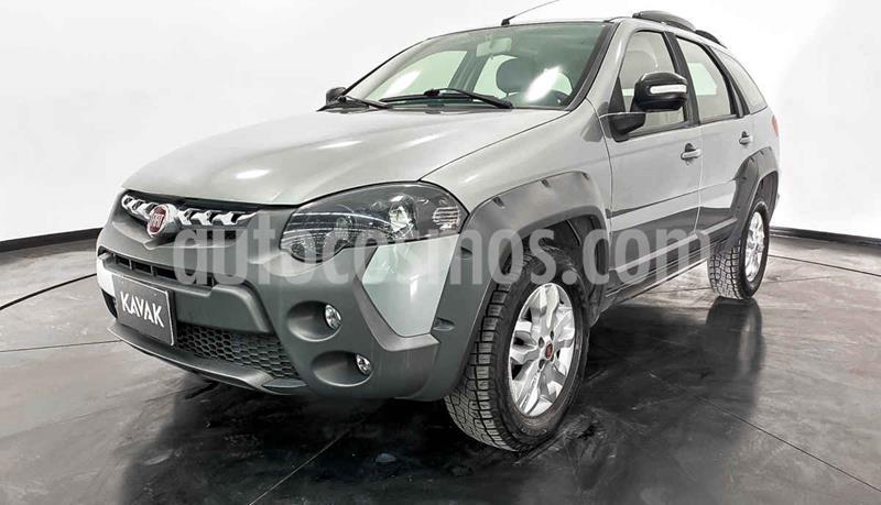 Fiat Palio 4P 1.6L E usado (2017) color Plata precio $214,999