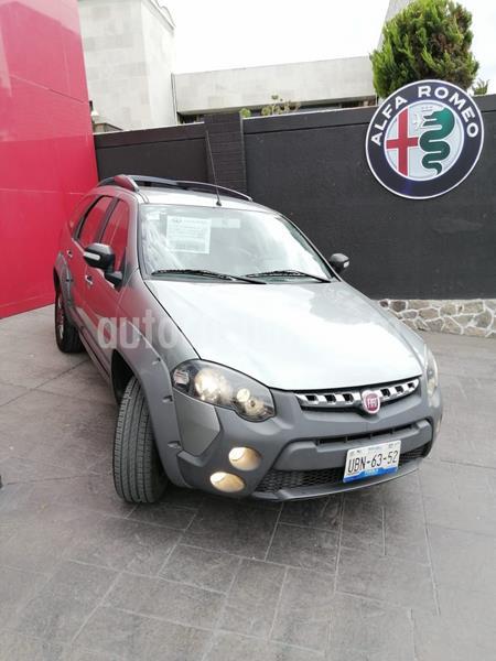 Fiat Palio 5P 1.6L usado (2019) color Gris precio $210,000
