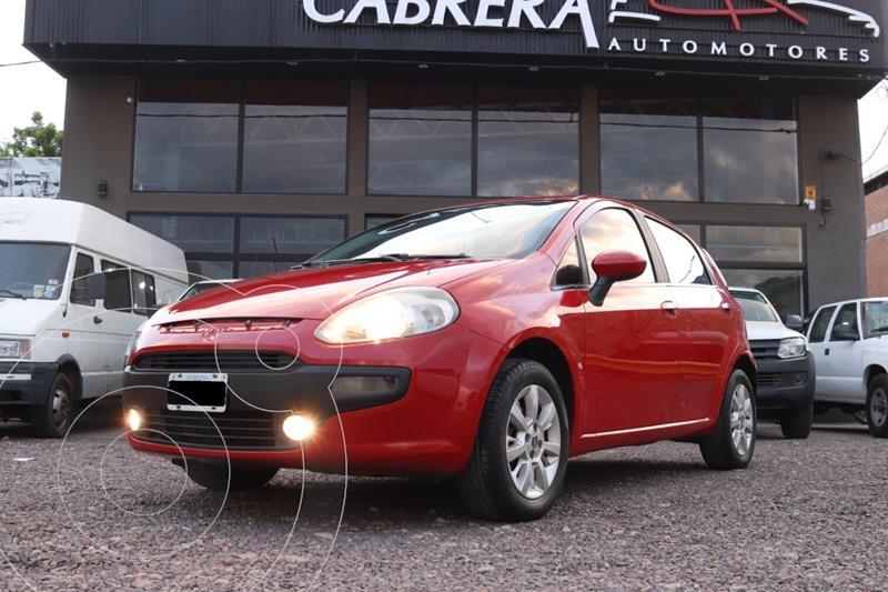 FIAT Punto 1.4 Attractive Pack Top 5Ptas. (87cv) (L13) usado (2014) color Rojo precio $650.000