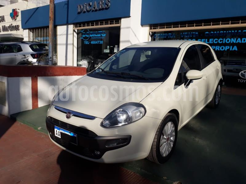 FIAT Punto 5P 1.6 Essence usado (2016) color Blanco precio $680.000